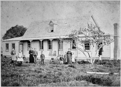 Monrad Homestead at Karere