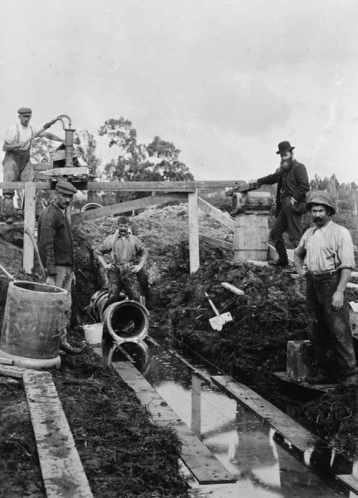 Origin of sewage