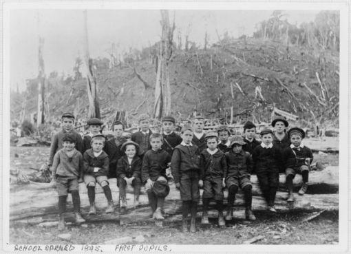 Reikorangi School 1895