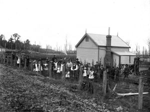 Arbour Day at Rata School 1894