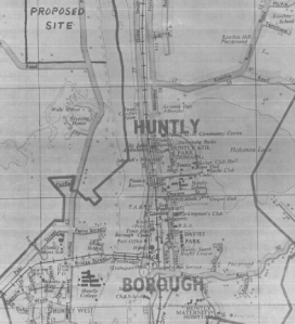 Huntly map