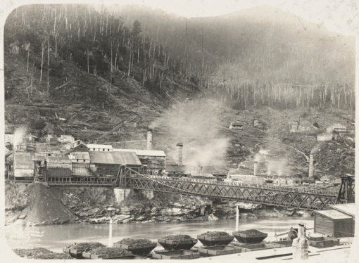 Brunner Mine on Grey River