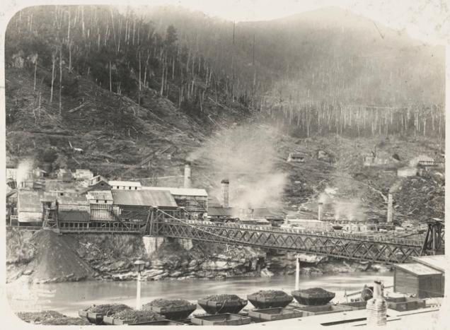 Brunner Mine on Grey River