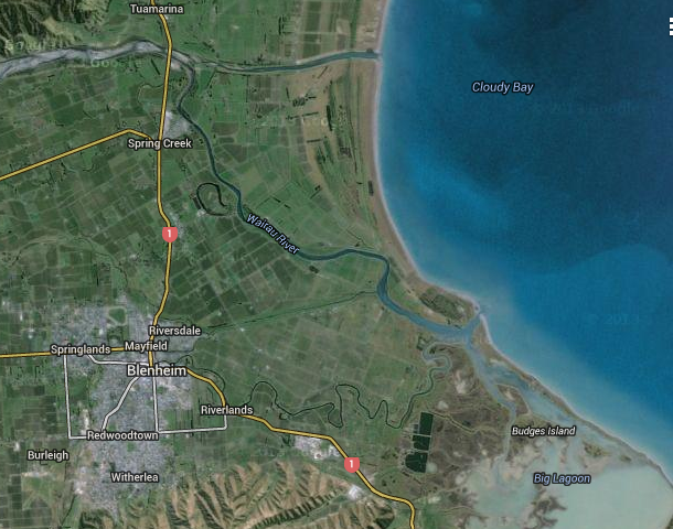 Wairau River - ancient and modern engineering (2/2)
