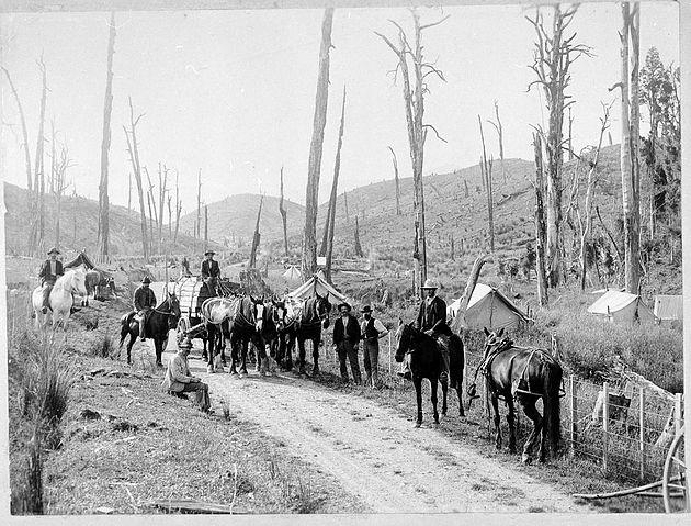 Opawe Road 1904
